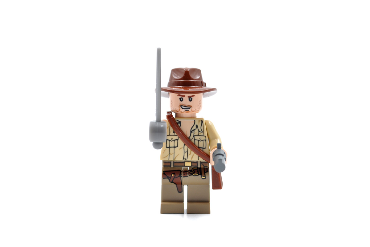 Indiana Jones and the Temple of Doom in Lego   Gray Cow