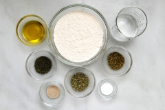 Pizza dough ingredients