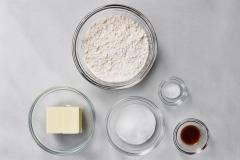 Shortbread ingredients