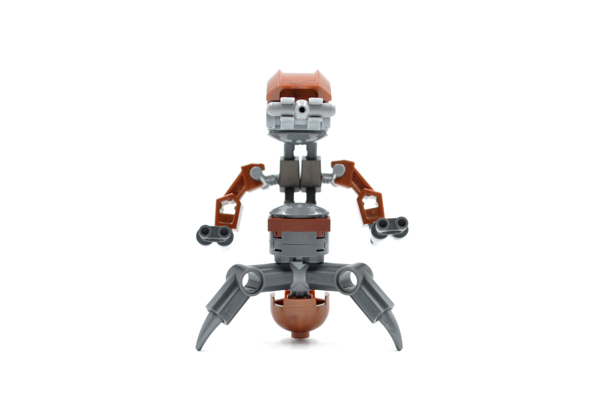 Star Wars In Lego 2007 Gray Cow 7665 Republic Cruiser Droideka 7662
