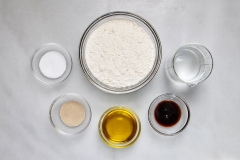 Pretzel dough ingredients