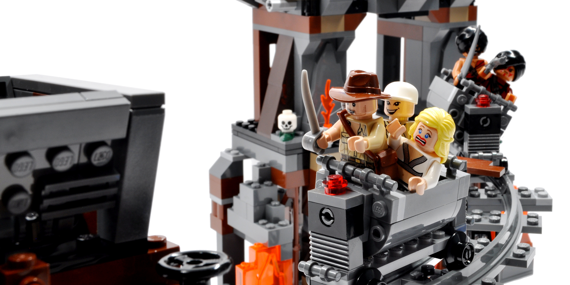 Lego 7199: The Temple of Doom